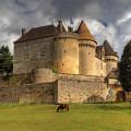 Le Château de Fénelon en tournage