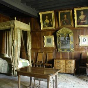 La chambre de Montesquieu © Fondation Jacqueline de Chabannes photographe Jérémie Buchholtz