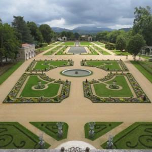 Arnaga - jardins à la française © Villa Arnaga