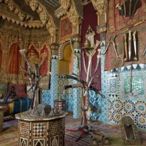 Maison de Pierre Loti - salon turc © DR