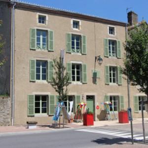 Maison natale de Jean Giraudoux © Académie Giraudoux