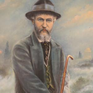 Autoportrait à l'huile de Jean Rameau