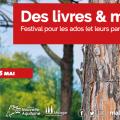 Des livres & moi : festival pour les ados à Malagar