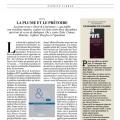 « La plume et le prétoire », nouvelle revue Droit et Littérature remarquée par « Le Figaro Magazine »