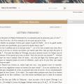 L'édition critique des «Lettres persanes» en libre accès sur montesquieu.huma-num.fr