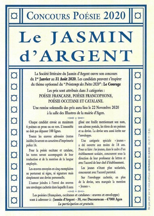 Jasmin d'argent