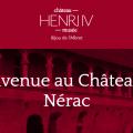 Un site Internet pour le Château de Nérac