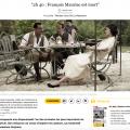 «2 h 40 : François Mauriac est mort» à lire dans «Sud Ouest»