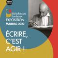 Exposition «Écrire, c'est agir !» autour de François Mauriac